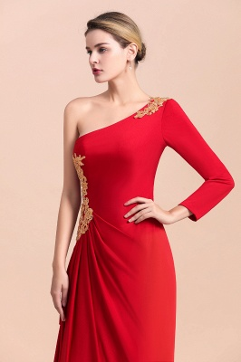 Rote Brautmutterkleider Lang Rot | Partykleider Günstig Online_8