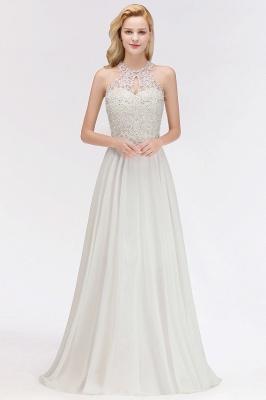 Brautjungfernkleid Weiß   Kleider Brautjungfer Günstig_1