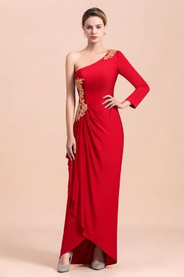 Rote Brautmutterkleider Lang Rot | Partykleider Günstig Online_4