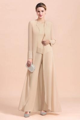 Champagne Brautmutterkleider Mit Jacket | Jumpsuit Brautmutterkleid
