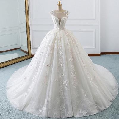 Hochzeitskleid Standesamt | Günstige Brautkleider Prinzessin_5