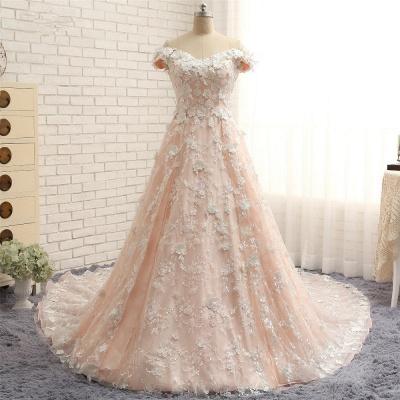 Günstige Hochzeitskleider A Linie   Brautkleider Spitze_5