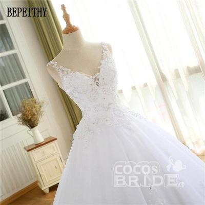 Elegante Hochzeitskleider Prinzessin | Ausgefallene Brautkleider_6