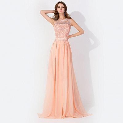 Elegante Abendkleider Günstig | Abiballkleider mit Spitze_5