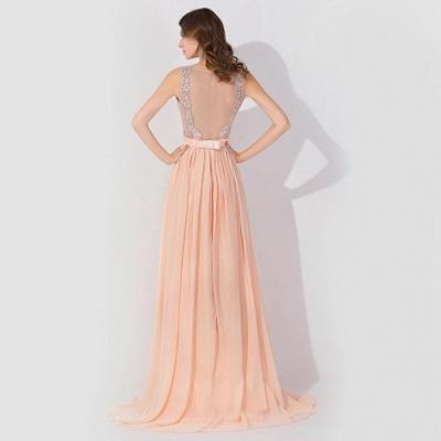 Elegante Abendkleider Günstig | Abiballkleider mit Spitze_3