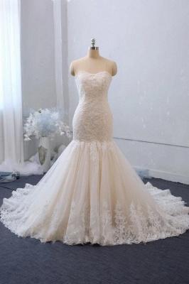 Elegante Brautkleider Meerjungfrau | Hochzeitskleider mit Spitze