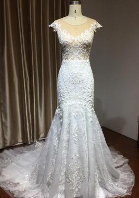 Moderne Hochzeitskleider mit Spitze | Brautkleider Meerjungfrau_3