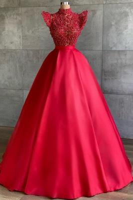 Designer Abendkleider Lang Rot | Abiballkleider Günstig_1