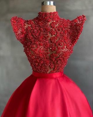 Designer Abendkleider Lang Rot | Abiballkleider Günstig_2