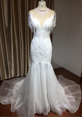 Brautkleider Meerjungfrau Spitze   Hochzeitskleider Günstig_3