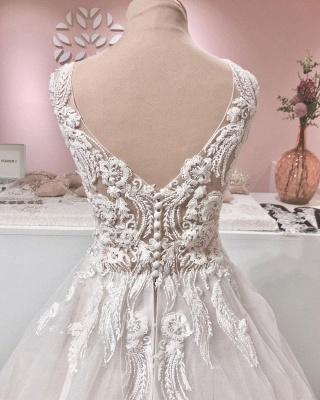 Wunderschöne Hochzeitskleider A Line | Brautkleider Mit Spitze_4
