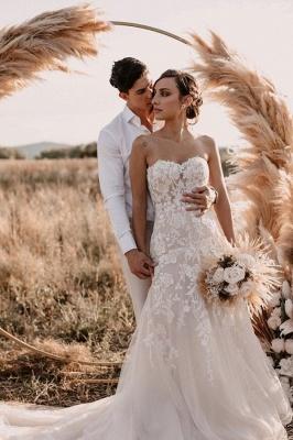 Hochzeitskleider Meerjungfrau Spitze | Brautkleider Günstig Kaufen