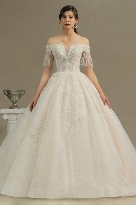 Extravagante Brautkleider A Linie   Spitze Hochzeitskleider mit Ärmel_2