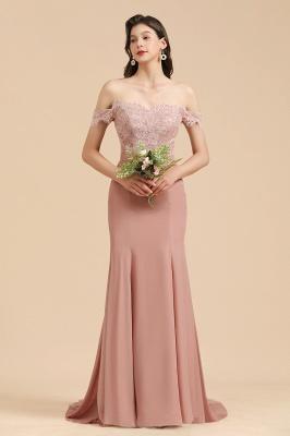 Brautjungfernkleider Altrosa | Hochzeitspartykleider Für Brautjungfern Günstig_6