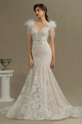 Elegante Brautkleider Meerjungfrau   Hochzeitskleider Spitze_3