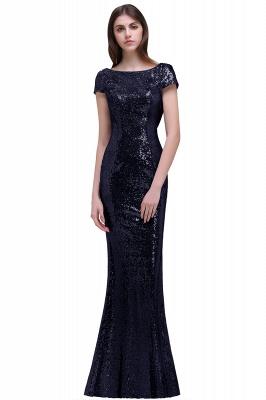 Gold Abendkleider Lang   Abiballkleider mit Glitzer_5
