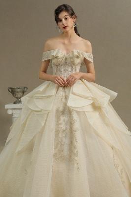 Extravagante Hochzeitskleider mit Spitze   Prinzessin Brautkleider_3