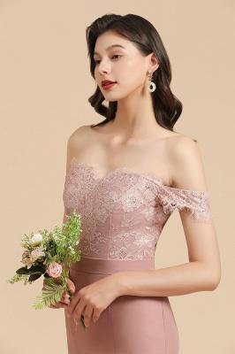 Brautjungfernkleider Altrosa | Hochzeitspartykleider Für Brautjungfern Günstig_8