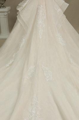 Schöne Brautkleider Mit Ärmel | Prinzessin Hochzeitskleider mit Spitze_8