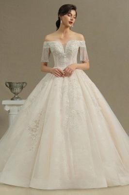 Extravagante Brautkleider A Linie | Spitze Hochzeitskleider mit Ärmel