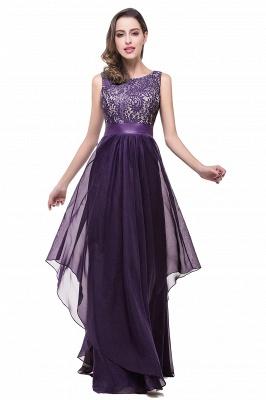 Schlichtes Abendkleid Blau | Abendkleider Lang Günstig_2