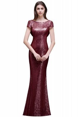 Gold Abendkleider Lang   Abiballkleider mit Glitzer_1