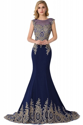 Abendkleider Lang Blau | Abiballkleider Mit Günstig_5