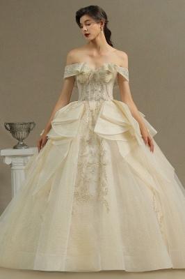 Extravagante Hochzeitskleider mit Spitze   Prinzessin Brautkleider_2