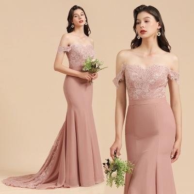 Brautjungfernkleider Altrosa | Hochzeitspartykleider Für Brautjungfern Günstig_10