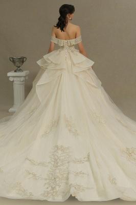 Extravagante Hochzeitskleider mit Spitze   Prinzessin Brautkleider_6