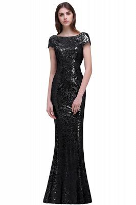 Gold Abendkleider Lang   Abiballkleider mit Glitzer_6