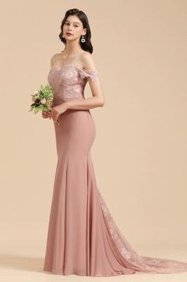 Brautjungfernkleider Altrosa | Hochzeitspartykleider Für Brautjungfern Günstig_7