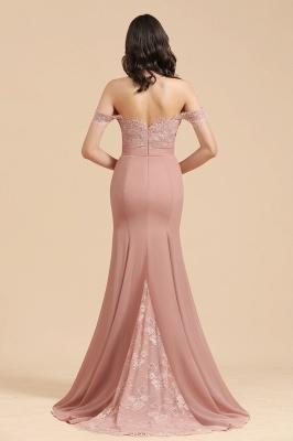 Brautjungfernkleider Altrosa | Hochzeitspartykleider Für Brautjungfern Günstig_3