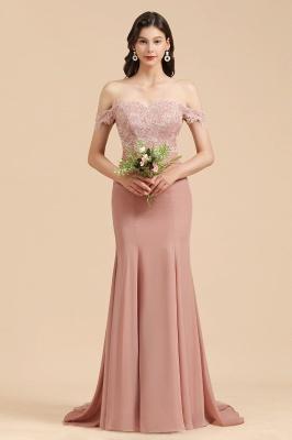 Brautjungfernkleider Altrosa | Hochzeitspartykleider Für Brautjungfern Günstig_1