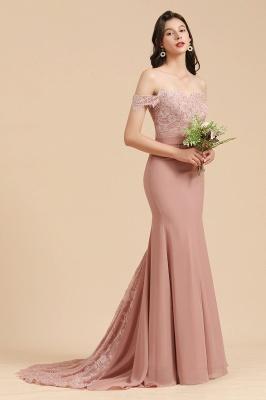 Brautjungfernkleider Altrosa | Hochzeitspartykleider Für Brautjungfern Günstig_4