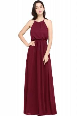 Schlichte Damenmoden   Chiffon Kleider Abendkleider Lang_2