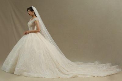 Hochzeitskleider A Linie   Brautkleider Spitze Günstig Online_2