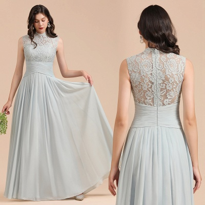 Brautjungfernkleider Mint | Spitze Kleider für Brautjungfern_10