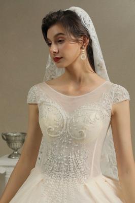 Hochzeitskleider A Linie   Brautkleider Spitze Günstig Online_3