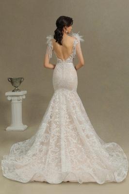 Elegante Brautkleider Meerjungfrau   Hochzeitskleider Spitze_7
