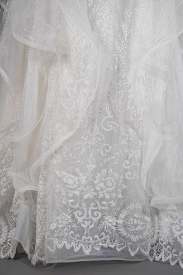 Brautkleider A Linie Günstig | Hochzeitskleider mit Spitze_5
