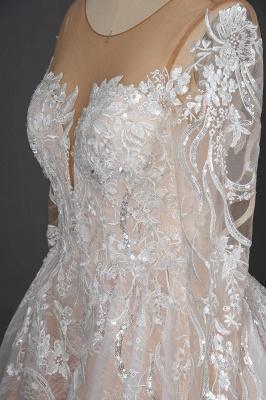 Extravagante Brautkleider Mit Ärmel | Prinzessin Hochzeitskleider Spitze_8