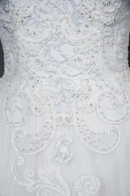 Designer Hochzeitskleider Mit Ärmel | Brautkleider A Linie Spitze_10