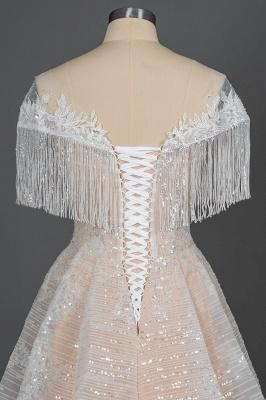 Schicke Hochzeitskleider A Linie | Brautkleider Mit Spitze_7
