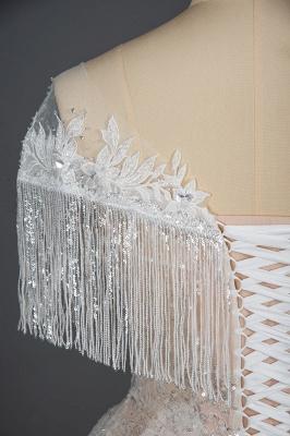 Schicke Hochzeitskleider A Linie | Brautkleider Mit Spitze_3