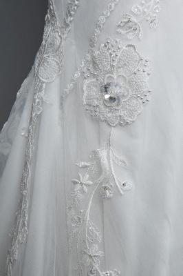 Elegante Brautkleider Meerjungfrau | Spitze Hochzeitskleider Günstig_6