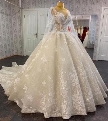 Wunderschöne Hochzeitskleider mit Ärmel | Brautkleider Spitze_2