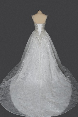 Prinzessin Hochzeitskleider Günstig | Brautkleider Glitzer_2