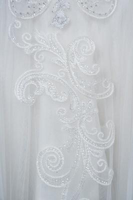 Designer Hochzeitskleider Mit Ärmel | Brautkleider A Linie Spitze_9