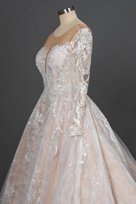Extravagante Brautkleider Mit Ärmel | Prinzessin Hochzeitskleider Spitze_10
